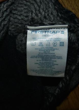 Очень теплая кофта firetrap 6-8 (40-42)р. 100% овечья шерсть3