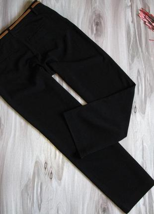 Базовые , черные брюки на высокую девушку размер eur 42/ 443