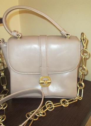 Пудровая сумочка бренд zara woman1