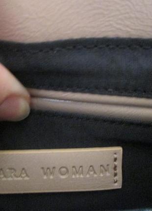 Пудровая сумочка бренд zara woman3