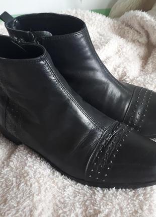 Ботинки натуральная кожа1