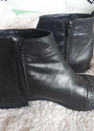 Ботинки натуральная кожа3