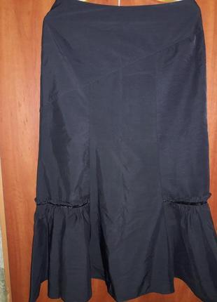 Очень красивая длинная юбка с теплой подстежкой2