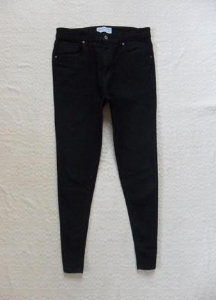 Стильные черные джинсы скинни с высокой талией pull&bear, 14-16 размер.1