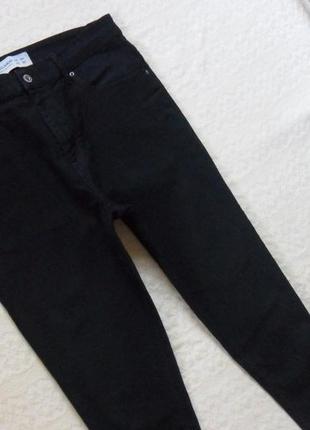 Стильные черные джинсы скинни с высокой талией pull&bear, 14-16 размер.2