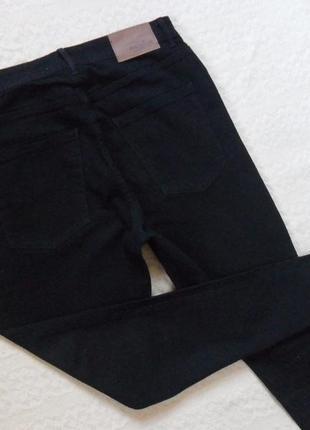 Стильные черные джинсы скинни с высокой талией pull&bear, 14-16 размер.3