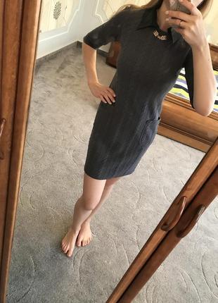 Красивое тёплое платье1