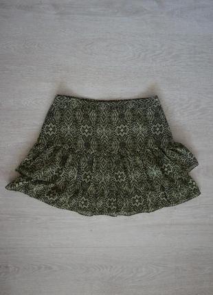 Продаю женскую шифоновую  юбку от h&m
