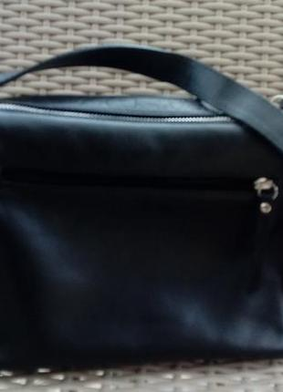 Итальянская кожаная сумка на плечо, кроссбоди2