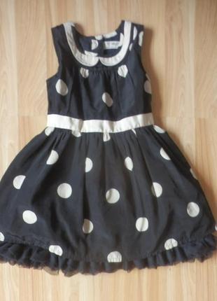 Фирменное платье next малышке 1-1,5 года состояние отличное