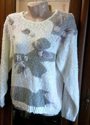 Shenanigans свитер кофта вязаная винтаж2