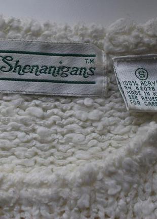 Shenanigans свитер кофта вязаная винтаж4