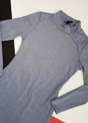 Новое серое осеннее осень лапша платье по фигуре размер m4
