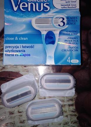 Касети для бритья gillette venus польша1