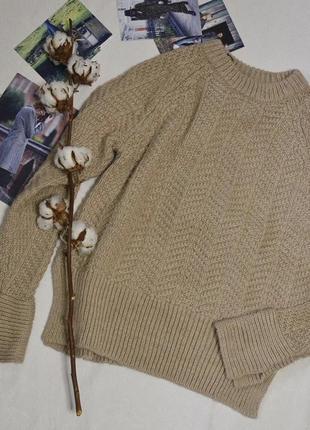 Кофейный свитер1