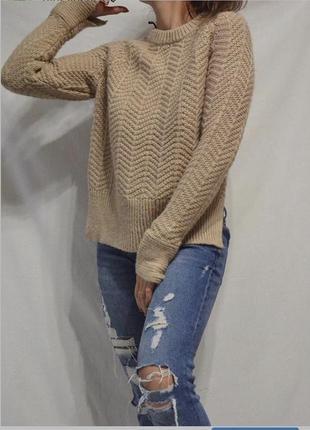 Кофейный свитер2