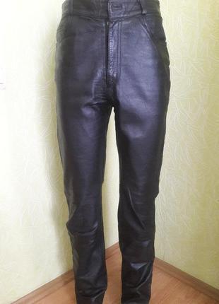 Кожаные брюки1