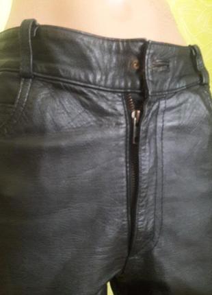 Кожаные брюки4