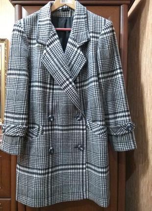 Английское шерстяное пальто littlewoods uk р.162