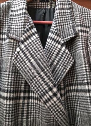 Английское шерстяное пальто littlewoods uk р.164