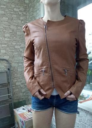 Куртка косуха кожанка кожаная1