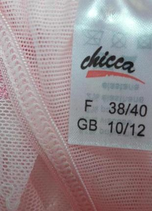 Классные кружевные с вышивкой трусики стринги бренда chicca5