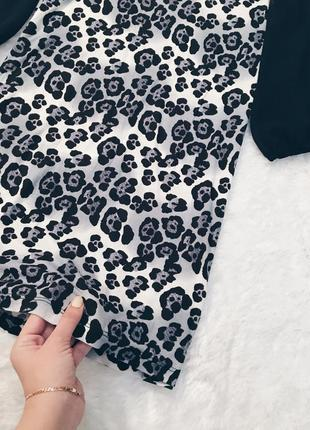 Шикарное новое леопардовое платье s-m с биркой5