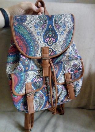 Яркий разноцветный рюкзак1