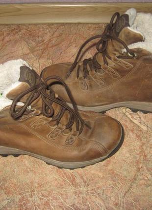 Женские фирменные зимние ботинки timberland waterproof 38 р (по ст-24 см)1