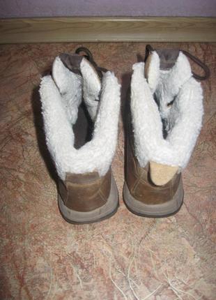 Женские фирменные зимние ботинки timberland waterproof 38 р (по ст-24 см)3