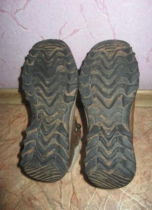 Женские фирменные зимние ботинки timberland waterproof 38 р (по ст-24 см)4