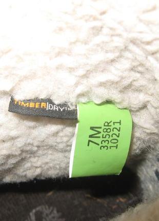 Женские фирменные зимние ботинки timberland waterproof 38 р (по ст-24 см)5
