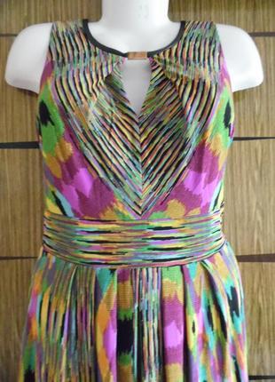 Платье «в пол» лето, новый donna ricco размер 12 – идет на 46-48.2