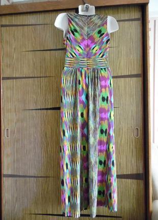 Платье «в пол» лето, новый donna ricco размер 12 – идет на 46-48.3