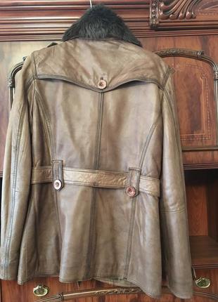 Куртка кожаная maze2