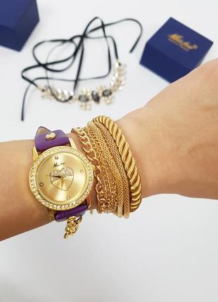 Новые женские часы тонкий ремешок1