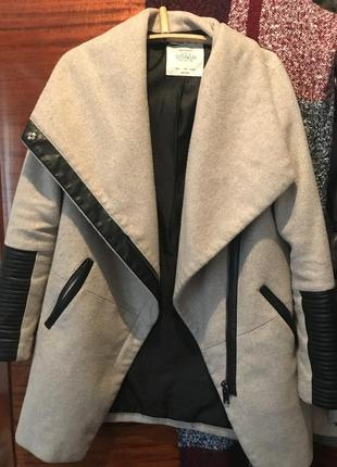 Пальто bershka1