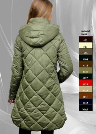 Стильная зимняя куртка 44-52р4