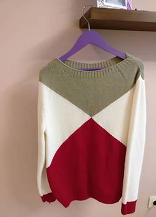 Тёплый приятный к телу пуловер2