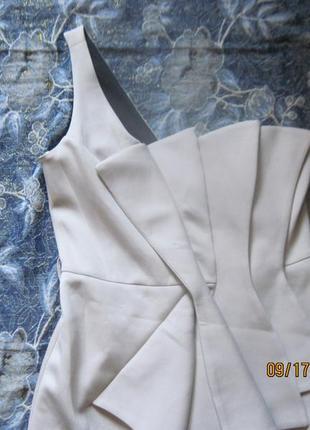 Новогодний наряд!модное нюдовое платье с  объемными складками всего за 199 грн!2