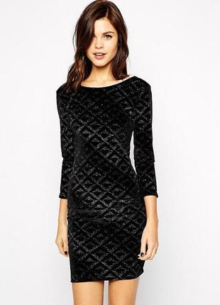 Шикарное блестящее платье warehouse!!!