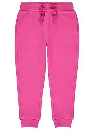 Джоггеры штаны с начесом утепленные брюки на девочку 4-5лет