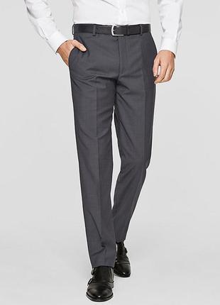 Костюмные брюки из тончайшей шерсти