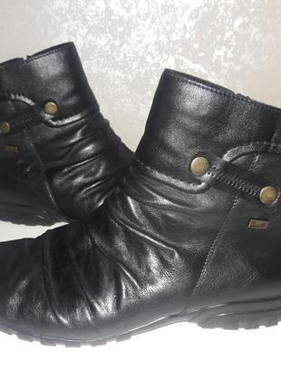 Ботинки зимние кожаные rieker 42 размер1