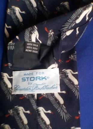 Сhristian fischbacher шёлк галстук в принт птицы.2