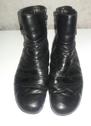 Ботинки зимние кожаные rieker 42 размер5