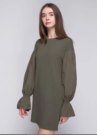 Стильное свободное платье bershka1