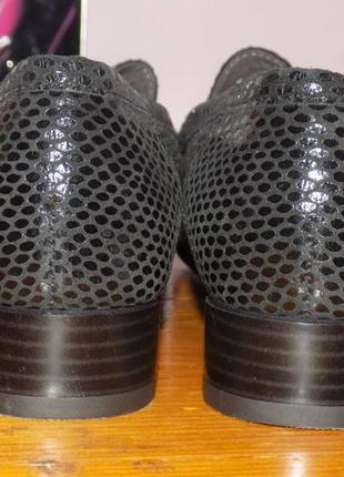 Женская кожаная фирменная обувь от ara 40.5 р кожа везде новая2