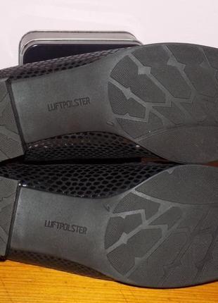 Женская кожаная фирменная обувь от ara 40.5 р кожа везде новая5