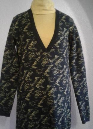 Очень теплый свитер -туника1